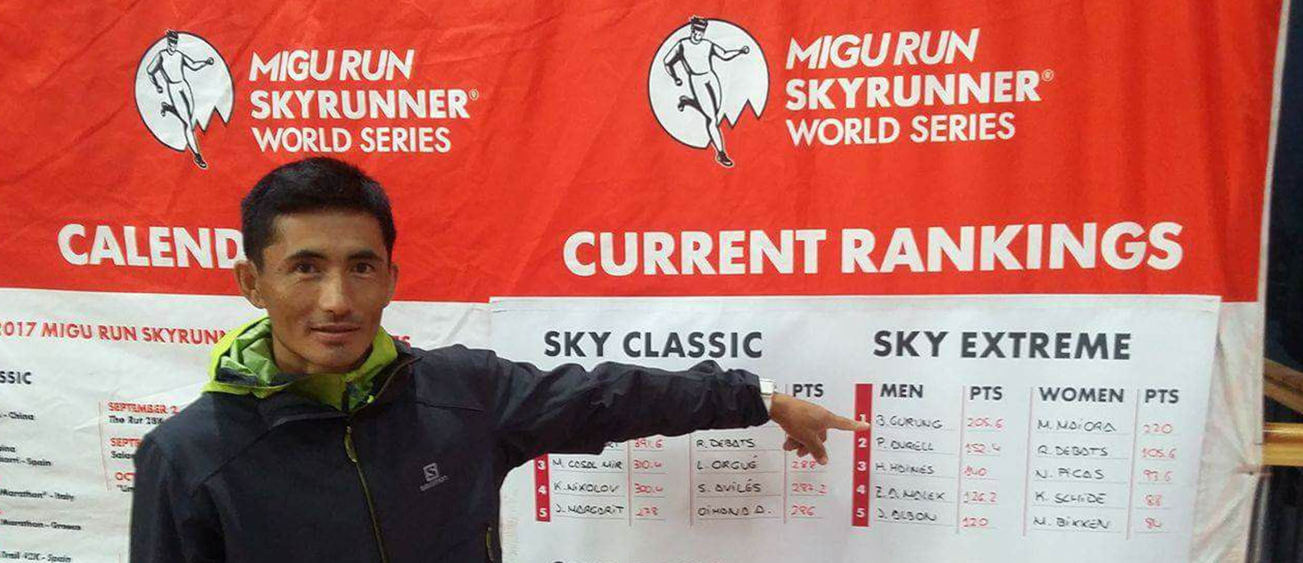 bhim gurung at Sky runner world series--